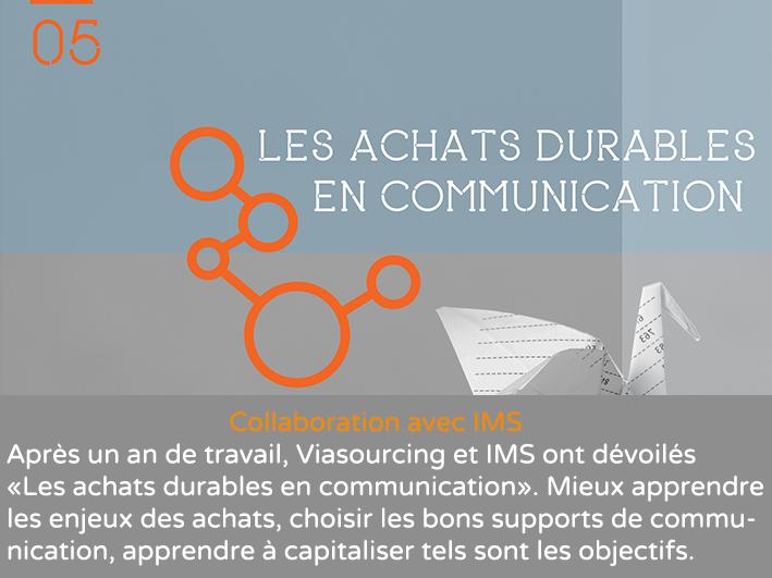 Les achats durables en communication ils viasourcing