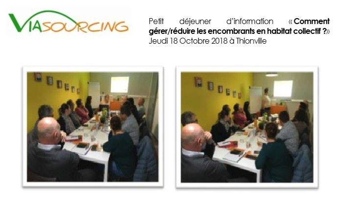 photo petit déjeuner organisé par viasourcing